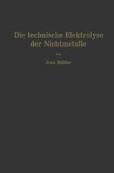 Die technische Elektrolyse der Nichtmetalle