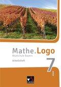 Mathe.Logo, Realschule Bayern (2017): 7 I. Jahrgangsstufe, Arbeitsheft