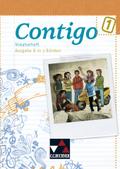 Contigo, Ausgabe B in 3 Bänden: Vokabelheft; Bd.1