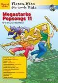 Megastarke Popsongs, 1-2 Sopran-Blockflöten, m. Audio-CD - Bd.11