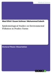 Epidemiological Studies on Environmental Pollution in Poultry Farms