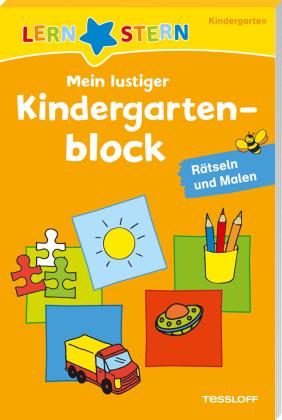 Mein lustiger Kindergartenblock - Rätseln und Malen
