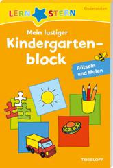 LERNSTERN Mein lustiger Kindergartenblock. Rätseln und Malen ab 3 Jahren