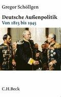 Deutsche Außenpolitik - Bd.1