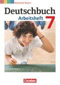 Deutschbuch, Realschule Bayern: 7. Jahrgangsstufe, Arbeitsheft