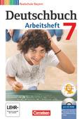 Deutschbuch, Realschule Bayern: 7. Jahrgangsstufe, Arbeitsheft mit CD-ROM