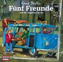 Fünf Freunde und der vergessene Schatz, 1 Audio-CD