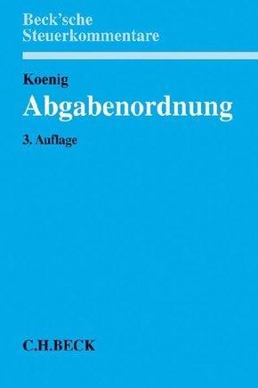 Abgabenordnung (AO), Kommentar