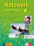 Netzwerk: Kursbuch Gesamtband, m. DVD u. 2 Audio-CDs; Bd.A2