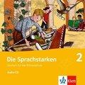 Die Sprachstarken: 2. Klasse, 1 Audio-CD; Bd.2