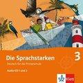 Die Sprachstarken: 3. Klasse, 2 Audio-CDs; Bd.3