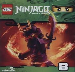LEGO® NINJAGO™ 2. Staffel, Die Reise zum Tempel des Lichts; Der Tempel des Lichts; Die dunkle Uhr, Audio-CD