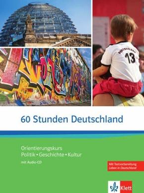 60 Stunden Deutschland, m. Audio-CD