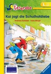 Kai jagt die Schulhofdiebe - Leserabe 3. Klasse - Erstlesebuch für Kinder ab 8 Jahren