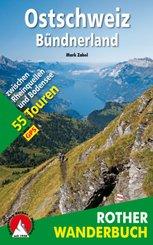 Rother Wanderbuch Ostschweiz - Bündnerland