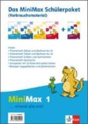 MiniMax: 1. Schuljahr, Das Minimax Schülerpaket (Verbrauchsmaterial), 5 Hefte