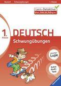 Schwungübungen, Deutsch 1. Klasse