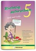 Richtig schreiben, Spaß mit Trolli: 5. Schuljahr, Druckschrift