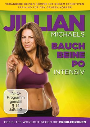 Jillian Michaels- Bauch, Beine, Po intensiv, 1 DVD