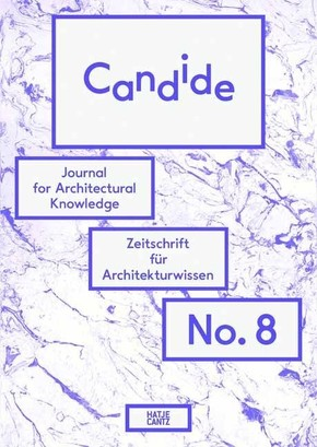 Candide. Journal for Architectural Knowledge - No.8