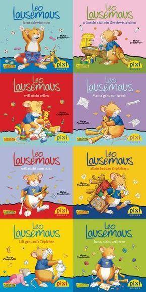 Pixi Bücher: Pixi-Buch 1985-1992 (Leo Lausemaus), 8 Hefte; 219