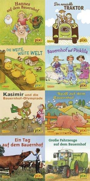 Pixi Bücher: Pixi-Buch 1878-1885 (Besucht den Bauernhof), 8 Hefte; Serie.208