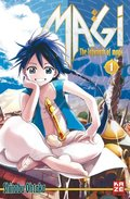 Magi, The Labyrinth of Magic - Bd.1