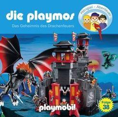 Die Playmos - Das Geheimnis des Drachenfeuers, 1 Audio-CD