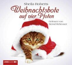 Weihnachtsbote auf vier Pfoten, 4 Audio-CDs