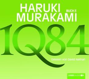 1Q84, 4 MP3-CDs - Buch.3
