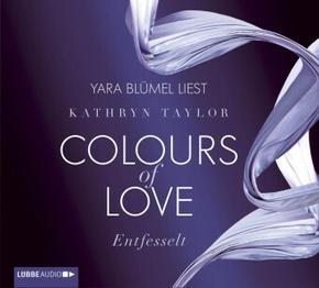Colours of Love - Entfesselt, 4 Audio-CDs