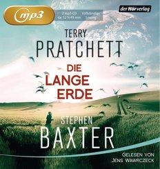 Die Lange Erde, 2 Audio-CD, MP3