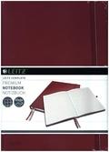 Leitz Notizbuch Complete A4 kariert rot