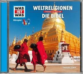 Weltreligionen / Die Bibel, 1 Audio-CD - Was ist was Hörspiele