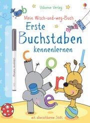 Mein Wisch-und-weg-Buch, Erste Buchstaben kennenlernen