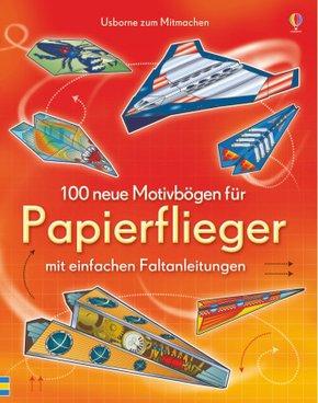 100 neue Motivbögen für Papierflieger