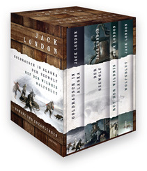 Jack London - Romane und Erzählungen, 4 Bde.