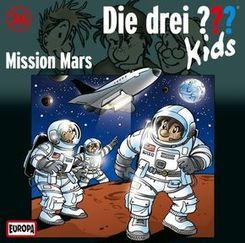 Die drei ???-Kids - Mission Mars, 1 Audio-CD
