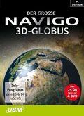 Der große Navigo 3D-Globus, 4 DVD-ROMs