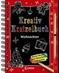 Kreativ-Kratzelbuch - Weihnachten