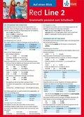 Red Line: Auf einen Blick: Grammatik passend zum Schulbuch; Bd.2
