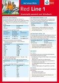 Red Line: Auf einen Blick: Grammatik passend zum Schulbuch; Bd.1