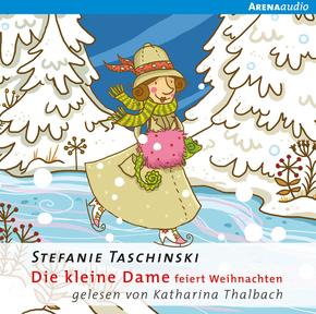 Die kleine Dame feiert Weihnachten, 1 Audio-CD