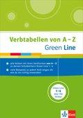 Green Line, Verbtabellen von A-Z