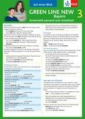 Green Line New, Ausgabe für Bayern: Auf einen Blick: Grammatik passend zum Schulbuch; Bd.3