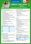 Green Line New, Ausgabe für Bayern: Auf einen Blick: Grammatik passend zum Schulbuch; Bd.1