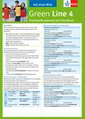 Green Line, Neue Ausgabe für Gymnasien: Auf einen Blick: Grammatik passend zum Schulbuch; Bd.4