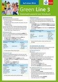 Green Line, Neue Ausgabe für Gymnasien: Auf einen Blick: Grammatik passend zum Schulbuch; Bd.3