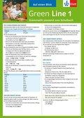 Green Line, Neue Ausgabe für Gymnasien: Auf einen Blick: Grammatik passend zum Schulbuch; Bd.1