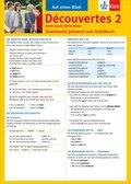 Découvertes - Série jaune / Série bleue: Auf einen Blick: Grammatik passend zum Schulbuch; Bd.2